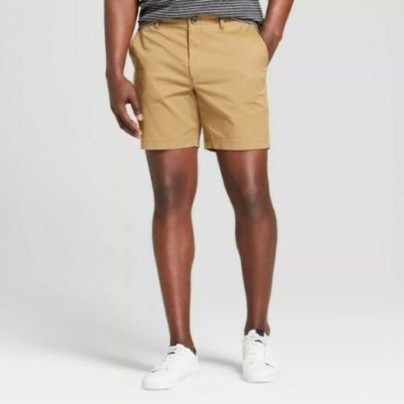 Goodfellow & Co Other - Goodfellow Men's Flat Front Brown Shorts   38